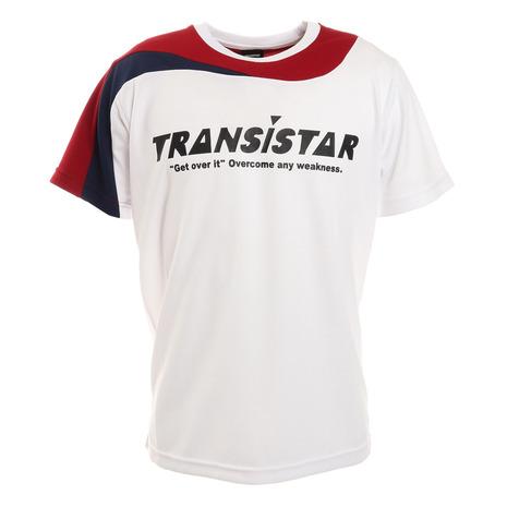 トランジスタ 税込 TRANSISTAR ハンドボールウェア メンズ HB21ST03-16 アシメ切替ゲームシャツ 豪華な