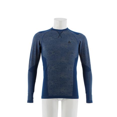 【まとめ買い】 オドロ(ODLO) BLACKCOMB EVOLUTION BLUxBLK WARM 170982 ベースレイヤー BLACKCOMB 長袖Tシャツ 170982 BLUxBLK (Men's), タカスチョウ:245596d7 --- hortafacil.dominiotemporario.com