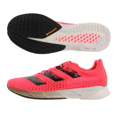 ランニングシューズ メンズ アディダス(adidas) ランニングシューズ アディゼロ プロ FW9240 ピンク マラソン (メンズ)