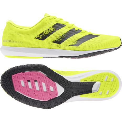 ランニングシューズ メンズ アディダス(adidas) ランニングシューズ メンズ アディゼロ ベコジ ADIZERO BEKOJI 2 H68738 レーシングシューズ マラソン (メンズ)
