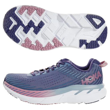 HOKA 【オンラインストア価格】クリフトン Clifton 5 1093756-MBRB (Lady's)