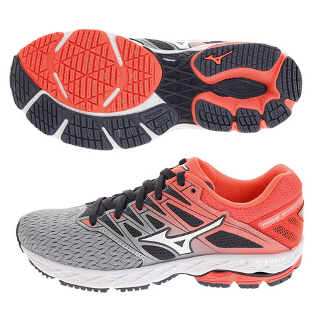 ミズノ(MIZUNO) WAVE SHADOW 2 WIDE J1GD189702 (Lady's)