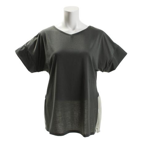 RealStone デザインTシャツ RSC318TS-K (Lady's)
