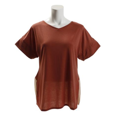 RealStone デザインTシャツ RSC318TS-OBR (Lady's)
