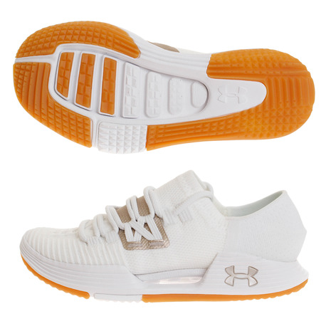 アンダーアーマー(UNDER ARMOUR) Speedform AMP 3.0 #3020856 WHT/WHT/MFG (Lady's)