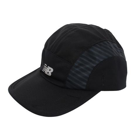 ファッション通販 ニューバランス new balance ランニング HANZO オンライン価格 エアースルーキャップ メンズ 帽子 流行 JACR0600BK