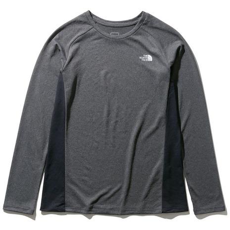ロングスリーブGTDメランジクルーシャツ NTW12096 ZC (レディース)