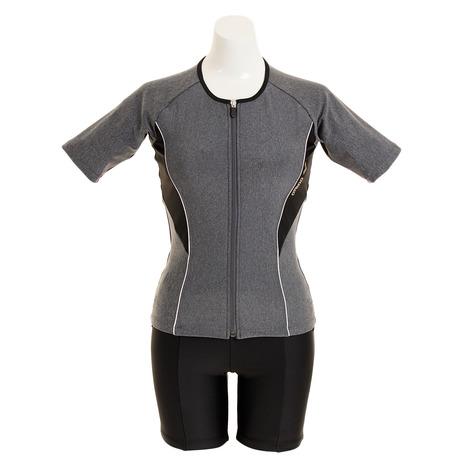 アリーナ(ARENA) 袖付きセパレーツ LAR-9242W MKBK (Lady's)