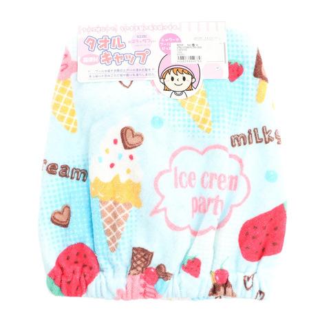 林(Hayashi) キャップタオル アイスクリーム ZJ472700 (キッズ)