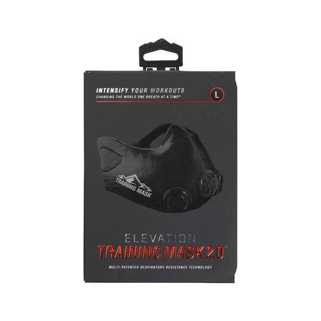 トレーニングマスク トレーニングマスク2.0 ブラック 29000003 Lサイズ (Men's)