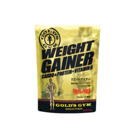 ゴールドジム(GOLD'S GYM) ウエイトゲイナー チョコレート風味 3kg F8530 (Men's)