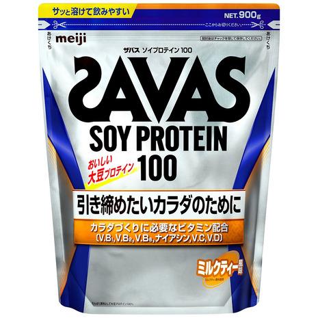 プロテイン ザバス SAVAS ソイプロテイン100 ウェイトダウン ミルクティー風味 大豆 945g 減量 メンズ 100%品質保証! CZ7475 レディース 特価 約45食入