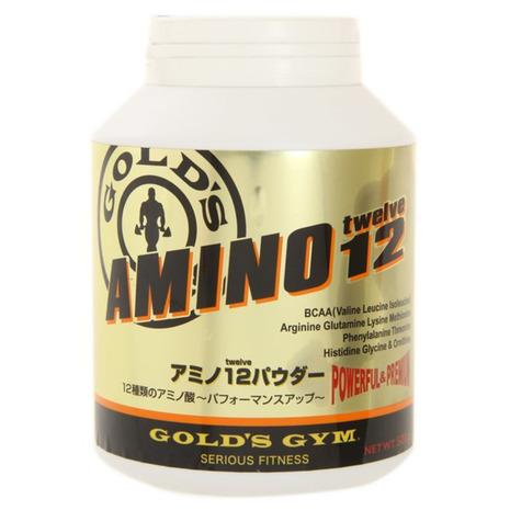 ゴールドジム(GOLD'S GYM) アミノ12パウダー 500g F4350 (Men's)