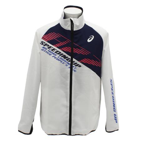 スーパースポーツゼビオ ジャージ メンズ 売り出し 上 アシックス 2031B015.100 ASICS 定価 A77 クロスジャケット オンライン価格