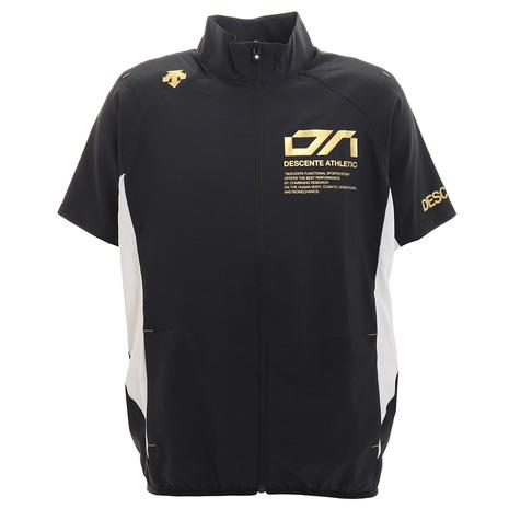 デサント DESCENTE 価格 クロストレーニング半袖ジャケット 2020A/W新作送料無料 BK DX-C0036XB メンズ