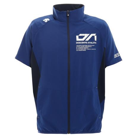 デサント DESCENTE 安い クロストレーニング半袖ジャケット DX-C0036XB メンズ BL トラスト