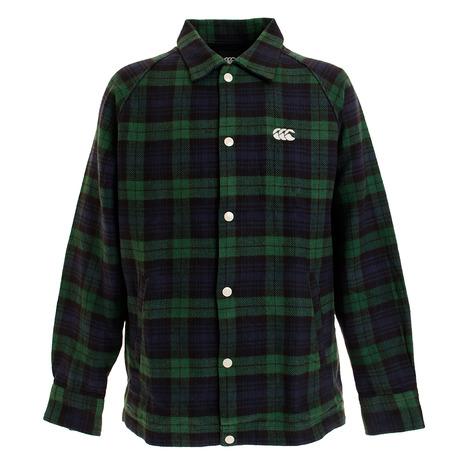 カンタベリー(canterbury)マドラスチェック シャツジャケット RA49567 29 (Men's)