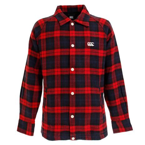 カンタベリー(canterbury) マドラスチェック シャツジャケット RA49567 65 (Men's)