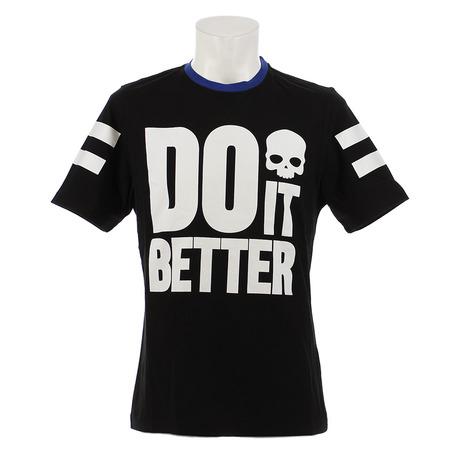 ハイドロゲン(HYDROGEN) DO IT BETTER Tシャツ RG0002 BLACK オンライン価格 (Men's)