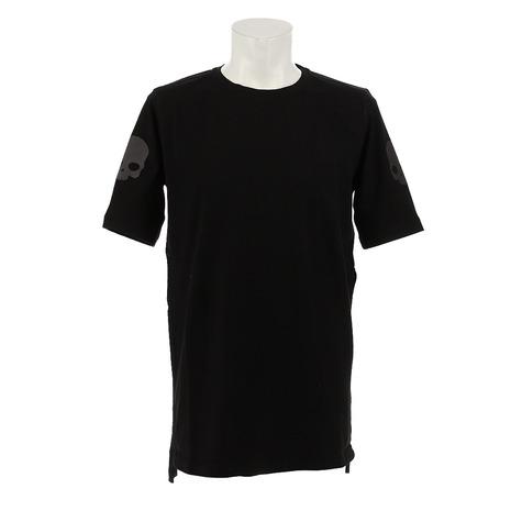 ハイドロゲン(HYDROGEN) リカバリー Tシャツ RG0009 BLACK オンライン価格 (Men's)