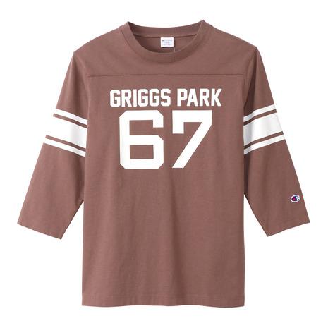 3/4スリーブ 7分袖フットボールTシャツ C3-S421 860 (メンズ)
