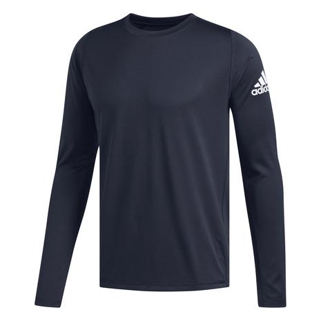 tシャツ 長袖 メンズ カットソー 正規逆輸入品 アディダス adidas Tシャツ ソリッド SEAL限定商品 フリーリフト FSK53-DU1500 スポーツ バッジ オブ