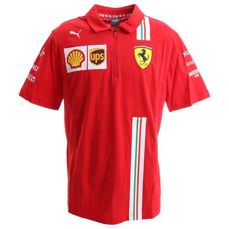 プーマ(PUMA) ポロシャツ 半袖 フェラーリ チーム 763032 01 RED (Men's)