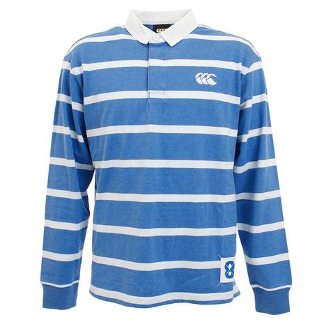 カンタベリー(canterbury) ロングスリーブ ラガーシャツ RA40071 25 オンライン価格 (Men's)