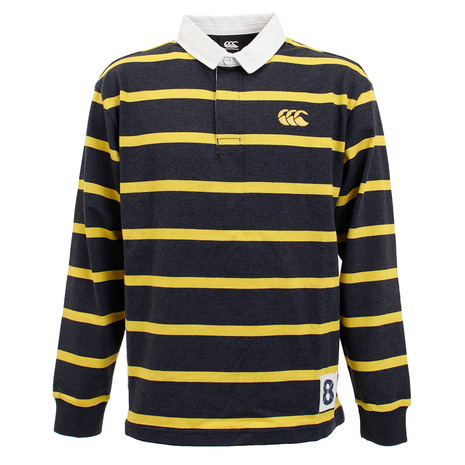 カンタベリー(canterbury) ロングスリーブ ラガーシャツ RA40071 29 オンライン価格 (Men's)
