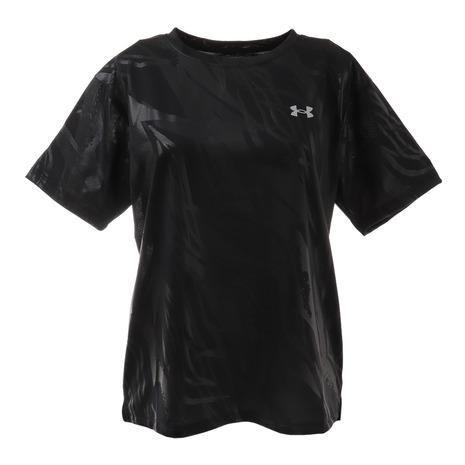 9 5はエントリーで会員ランク別P10倍 アンダーアーマー UNDER 新品 送料無料 ARMOUR Tシャツ レディース 半袖 ボックス 1364217 18%OFF プリントTシャツ テック 001