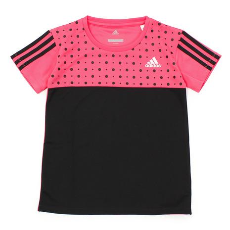 ポイント10倍~!要エントリー!3月1日0:00~23:59まで アディダス(adidas) Girls Tシャツ XB ETO82-CX3833 (Jr)