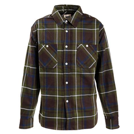 Slyde Vintage チェックシャツ SV-20SSAP007-GRN (Men's)