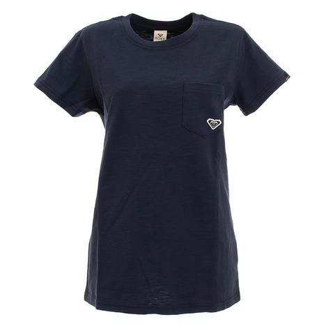スーパースポーツゼビオ tシャツ 半袖 レディース カットソー ROXY 送料無料(一部地域を除く) 20SPRST201605YNVY ロキシー 税込 POINT Tシャツ