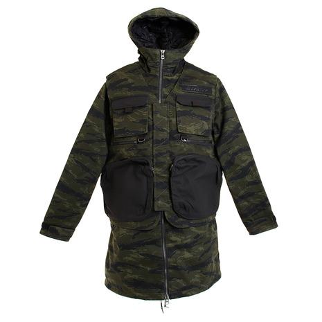 ディッキーズ ヘビーコットンツイルディチャッタブルベスト中綿フードジャケット DK006850CV3 (Men's)