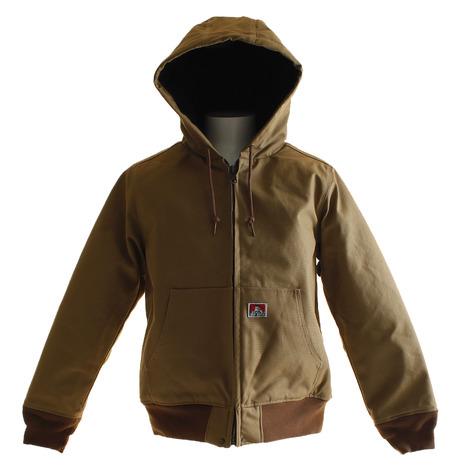 BEN DAVIS 【オンライン限定特価】BEN フーデットワークジャケット 8380020-BEG (Men's)
