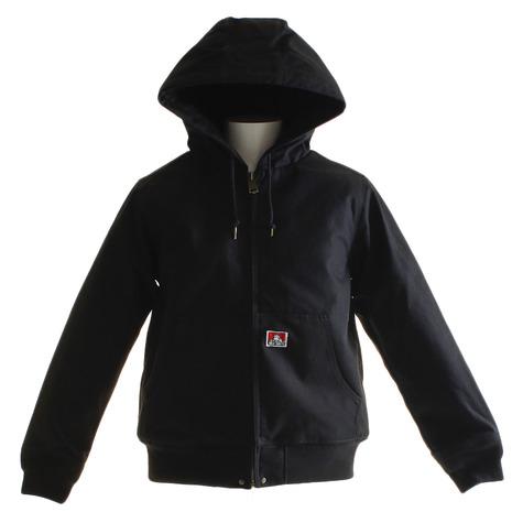 BEN DAVIS 【オンライン限定特価】BEN フーデットワークジャケット 8380020-BLK (Men's)