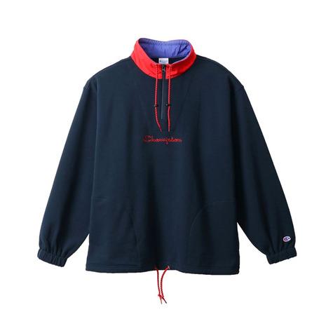 チャンピオン-ヘリテイジ(CHAMPION-HERITAGE) ハーフジップ ロゴスウェットシャツ C3-R002 370 オンライン価格 (Men's)