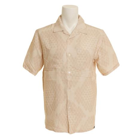 エクストララージ REPTILE ALLOVER PRINT 半袖シャツ 01191406-BEIGE (Men's)