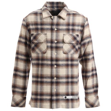 SURREAL(SURREAL) グレイソン オープンカラーシャツ GRAYSON-WHT (Men's)