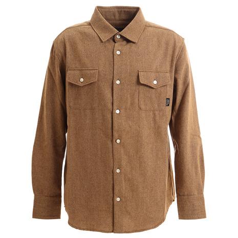 SURREAL(SURREAL) ジョシュア ライトツイードシャツ JOSHUA-BEG (Men's)