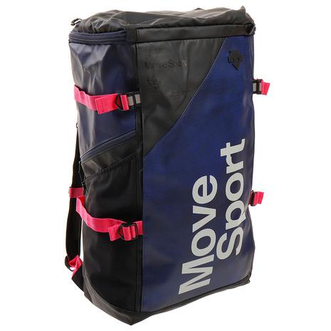 バッグ リュック リュックサック ディバッグ バッグパック デサント(DESCENTE) リュック スクエアバッグL 40L バックパック ネイビー DMAPJA05 NVGR (メンズ、レディース、キッズ)