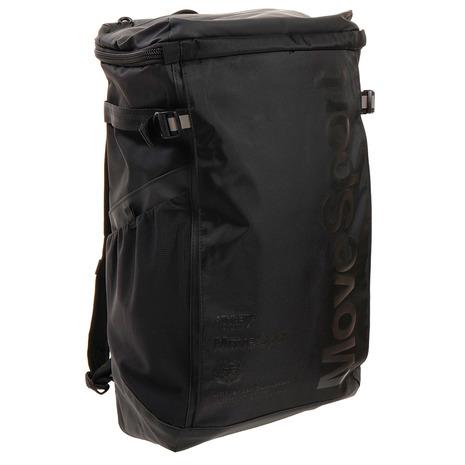 バッグ リュック リュックサック ディバッグ バッグパック デサント(DESCENTE) リュック スクエアバッグM 30L バックパック DMAPJA04 BK (ブラック×ブラック) (メンズ、レディース、キッズ)