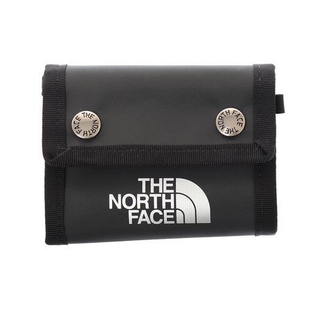 ノースフェイス THE NORTH 送料無料/新品 FACE BCドットワレット NM82153 ブラック メンズ 財布 レディース K 海外