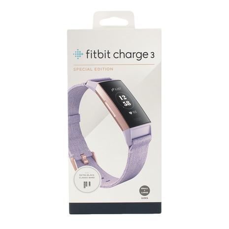 フィットビット(Fitbit) Charge3 スペシャルエディション FB410RGLV-CJK (Men's、Lady's)