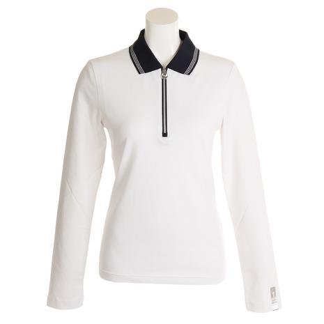 ゴルフィーノ(GOLFINO)RevolutionZipポロシャツ5330525-100(Lady's)