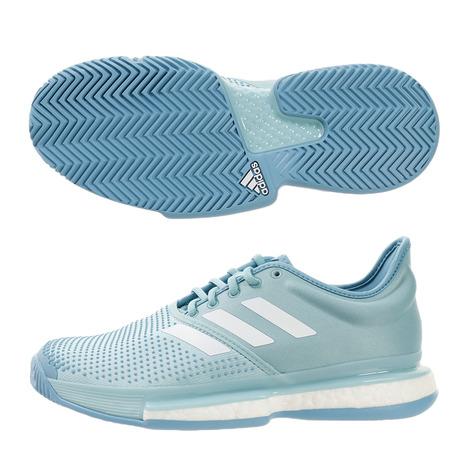 アディダス(adidas) SoleCourt Boost M MC テニスシューズ CG6339 (Men's)