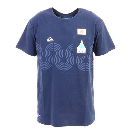 倉庫 クイックシルバー Quiksilver NAMINORI JAPAN WAVE メンズ TIND Tシャツ 新商品!新型 QST202002 20SU