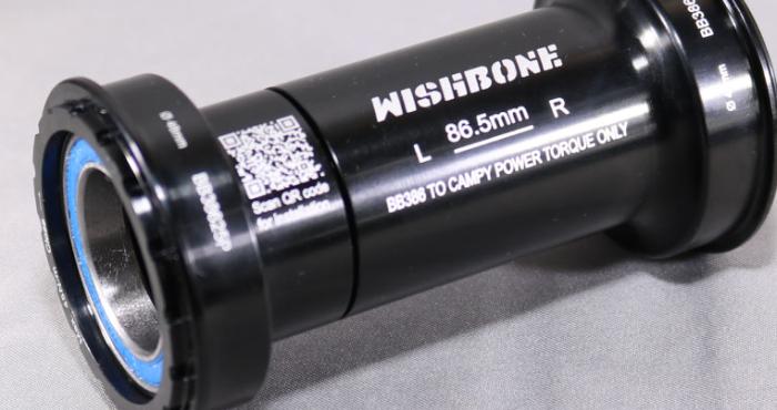 ウィッシュボーン BB38625P カンパニョーロパワートルククランク用