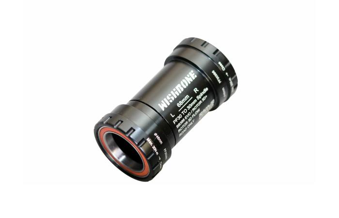 ウィッシュボーン PF30386 ROTOR BB30 / FSA BB386 EVO / SRAM QUARQ用 ロードバイク 音鳴り ボトムブラケット 圧入式