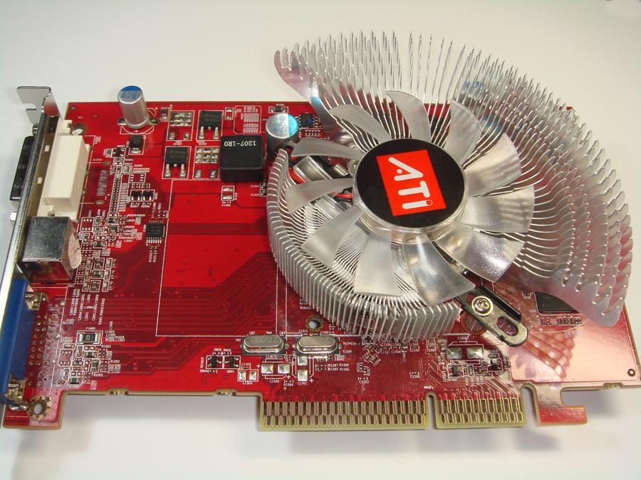 新品バルク品ATI AGPビデオカード RADEON HD26001024M 128bITDDR2WH2ED9I